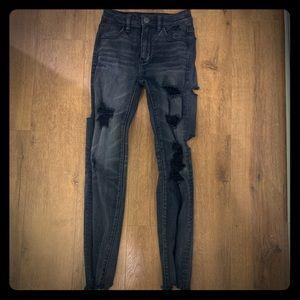 American Eagle Super Stretch Hi-Rise Legging Jeans